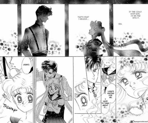 potongan dari manga sailor moon karya takeuchi naoko, apa pesan mangakanya sampai pada pembaca? (rewinnita.wordpress)