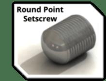 S-5!® Round Point Setscrew