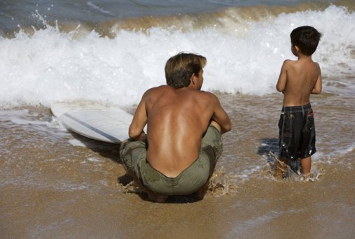 Teach kids to surf