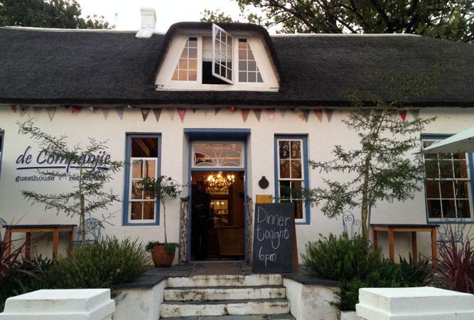De Companjie Restaurant in Swellendam