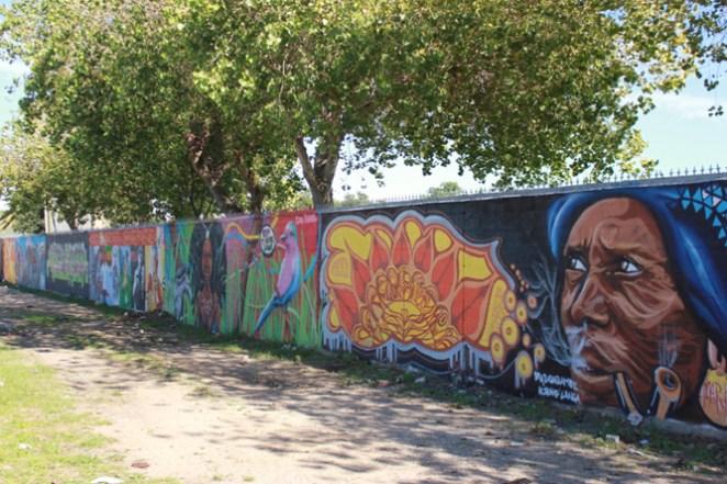 Graffiti at Langa Stadium