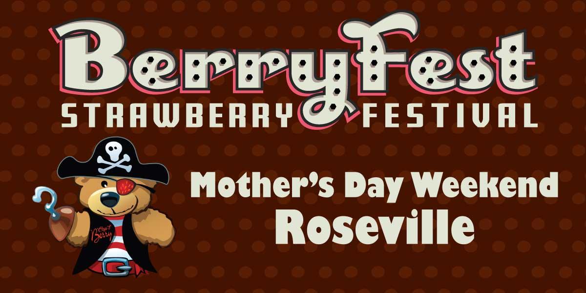 Berry Fest Strawberry Festival Roseville