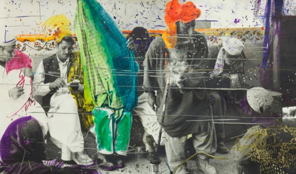 Untitled (Quetta, Pakistan), de Sigmar Polke. 1974-1978
