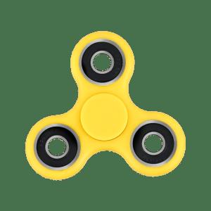 Yellow Fidget Spinner