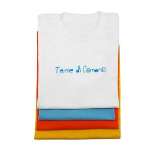 T-shirt bambino realizzata per le terme di Comano