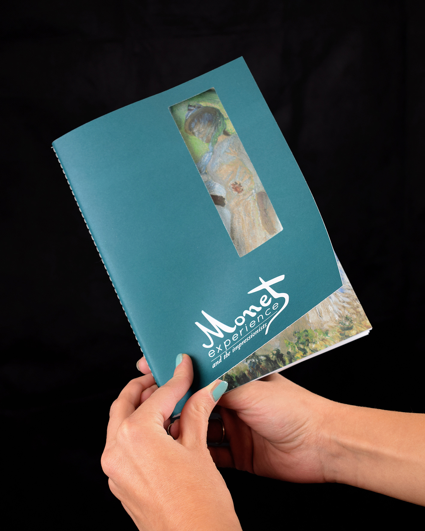 Notes personalizzati stampa digitale per Monet experience