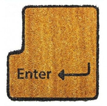 """Tappeto personalizzato """"Enter"""""""