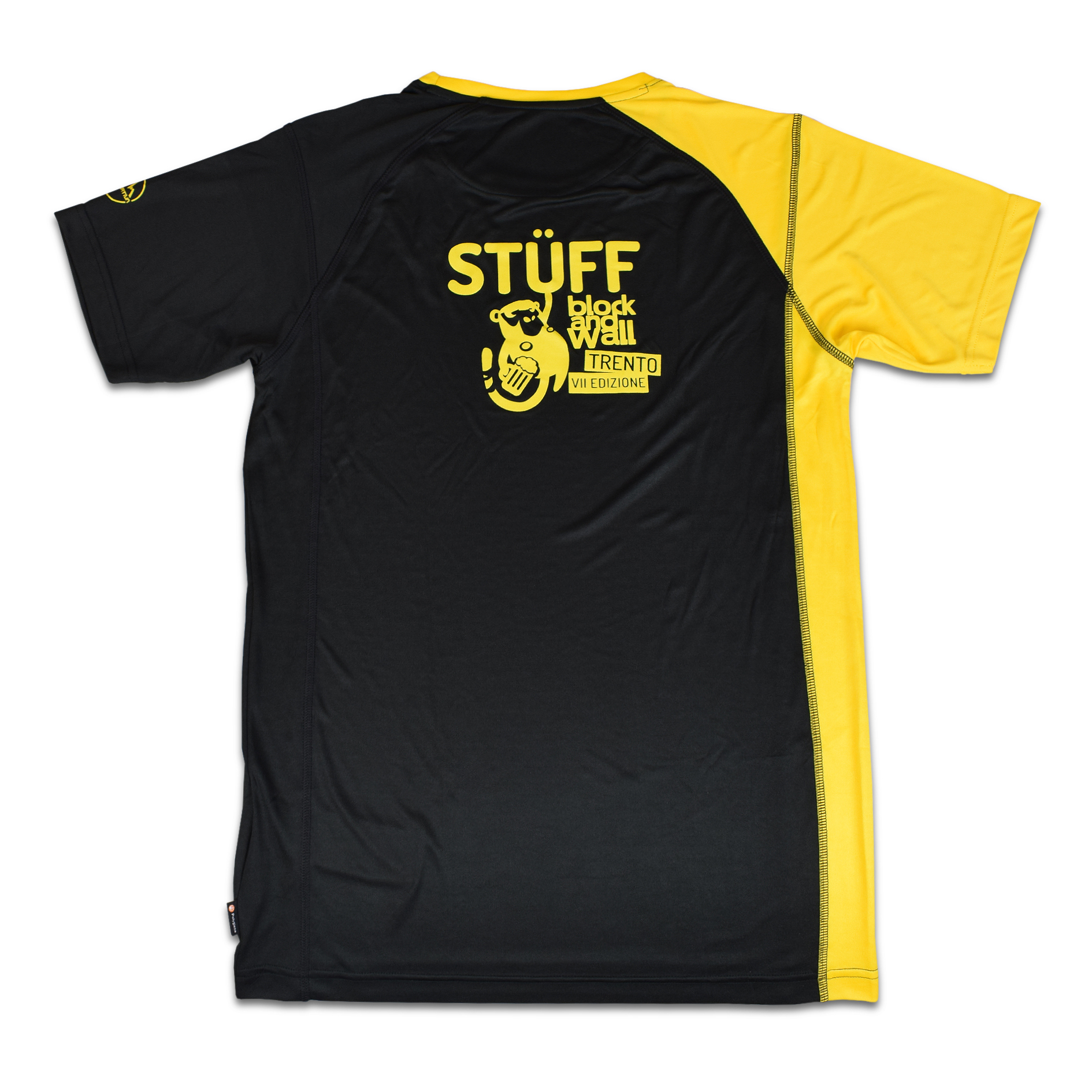 T-shirt tecnica Stüff Block and Wall La Sportiva