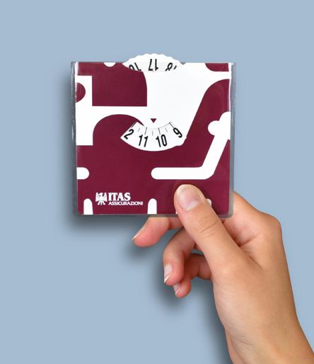 Disco orario personalizzato ITAS