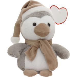 Morbidissimo peluche pinguino. Personalizzabile con il tuo logo ed un messaggio