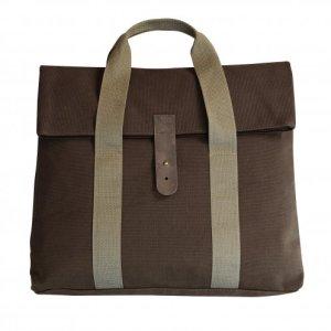 borsa da ufficio fronte marrone