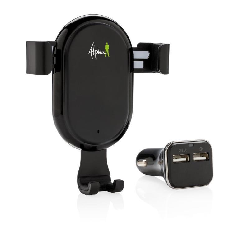 caricatore wireless per auto