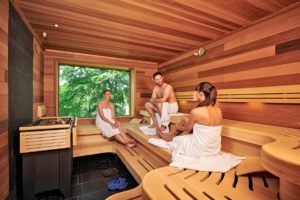 Sauna Bastei // (c) Berghotel Bastei GmbH