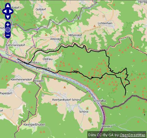 Route Hintere Sächsische Schweiz