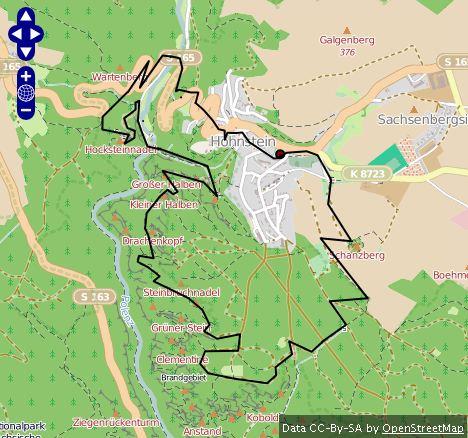 Route Hohnstein