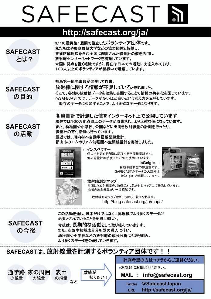 Safecast Pamphlet