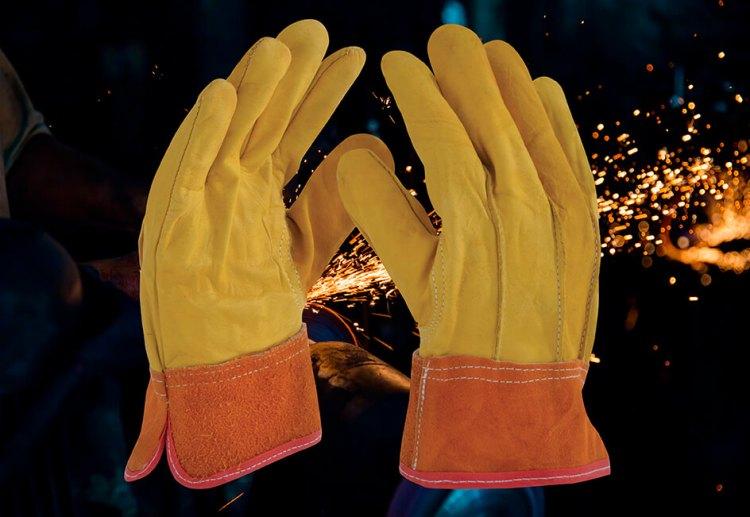 guantes de trabajo