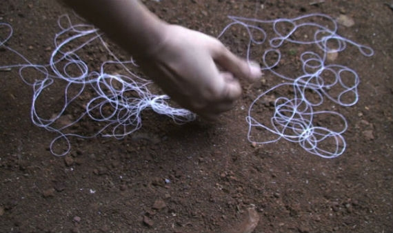 "Video still from ""Untitled"" Shilpa Gupta, 2012"