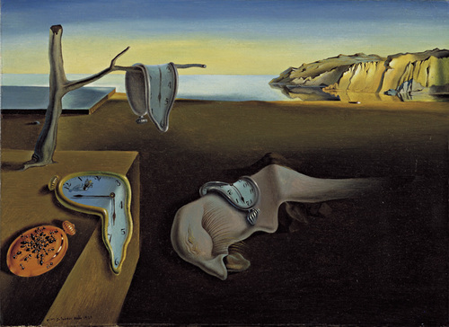 Salvador Dali, The Persistance of Memory, 1931.