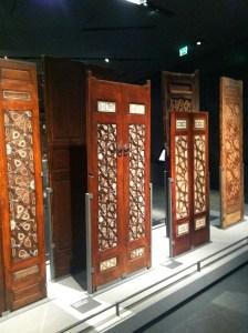 Wood doors inlaid with ebony and ivory, Egypt c. 1380-1420