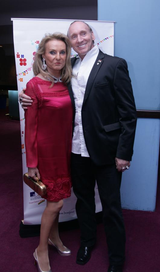 Gregory David Roberts & Princesse Francoise Sturdza