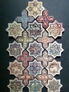 Ceramic stars, Iran, c. 665