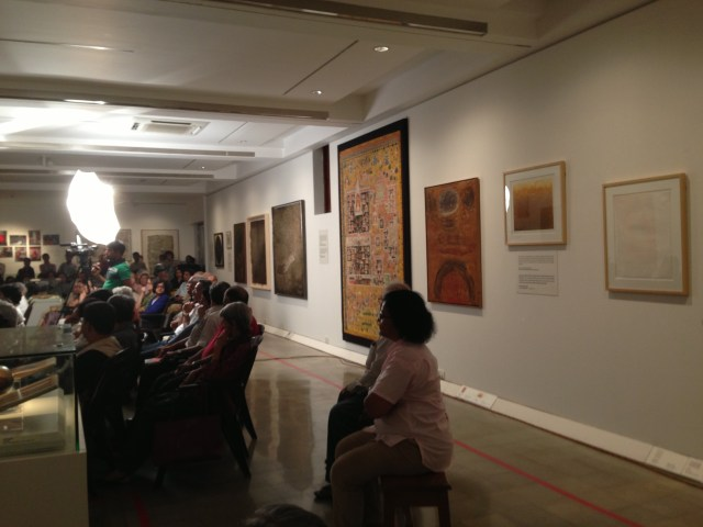 Installation view of the Jehangir Nicholson Gallery