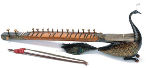 Stringed instrument, North India, 1800-1880, Image Credit,http://www.chinadaily.com.cn/cndy/2013-06/14/content_16618619.htm