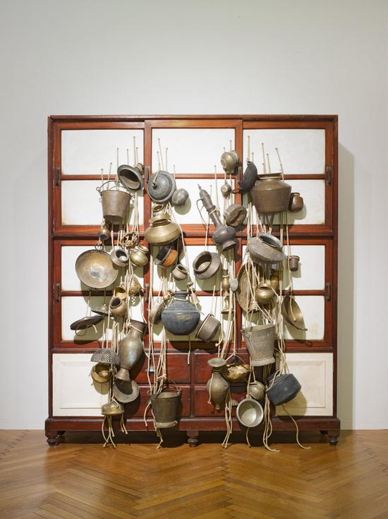 Ancestor Cupboard, Subodh Gupta, 2012