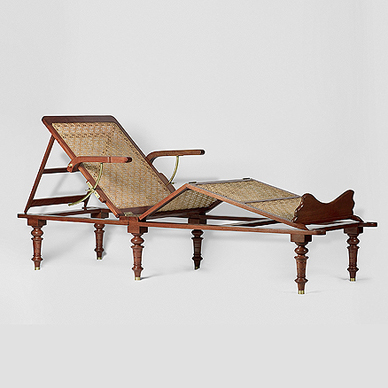 An Elegant Campaign Day Bed, Lot 36