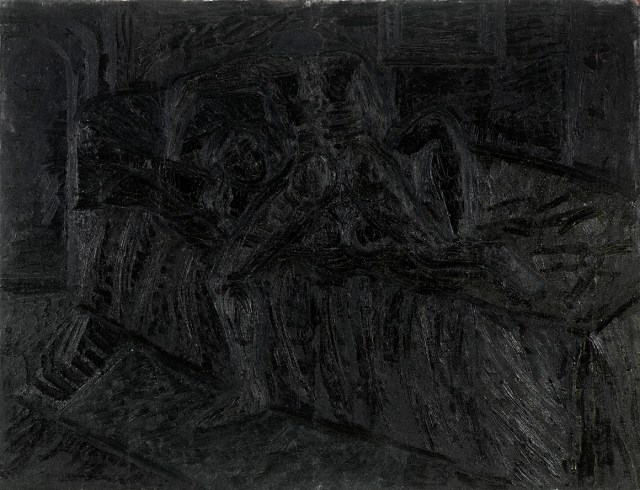 Lovers, 1965, F. N. Souza. Image Credit: http://grosvenorgallery.com/art-fairs/current-art-fairs/frieze-masters/