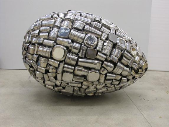An Egg Symbolising the Universe by Subodh Gupta.
