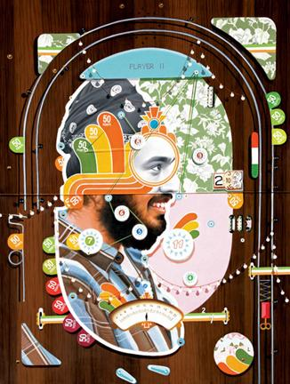 Thukral & Tagra, Pinball 11 (Windows of Opportunity), 2012