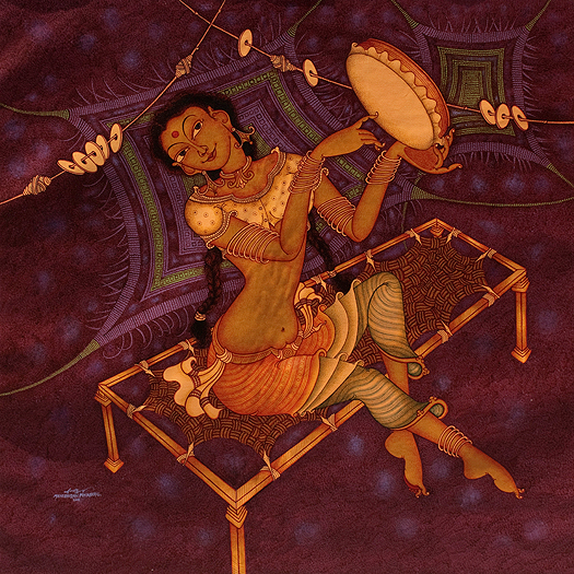 Punnakkal's women tread a thin line between spirituality and sensuality. Available on StoryLTD Source: https://www.storyltd.com/ItemV2.aspx?iid=39921