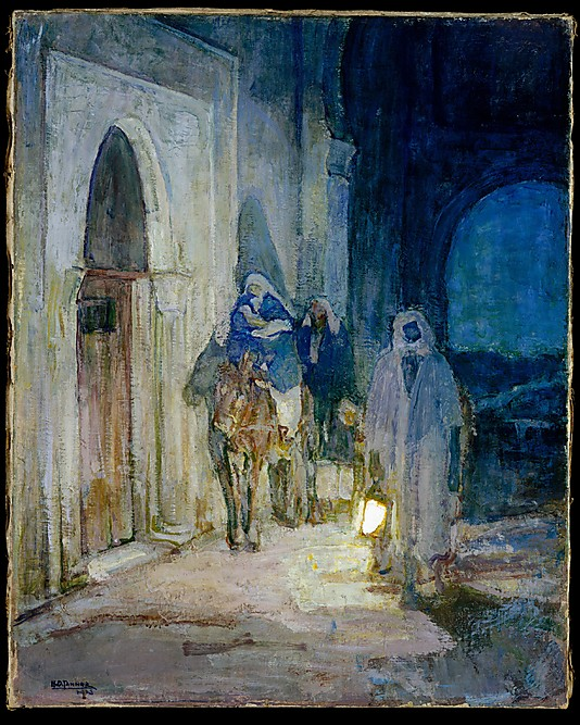 Henry Ossawa Tanner's Flight into Egypt, from the Met Museum Collection Source: http://www.metmuseum.org/collection/the-collection-online/search/16947