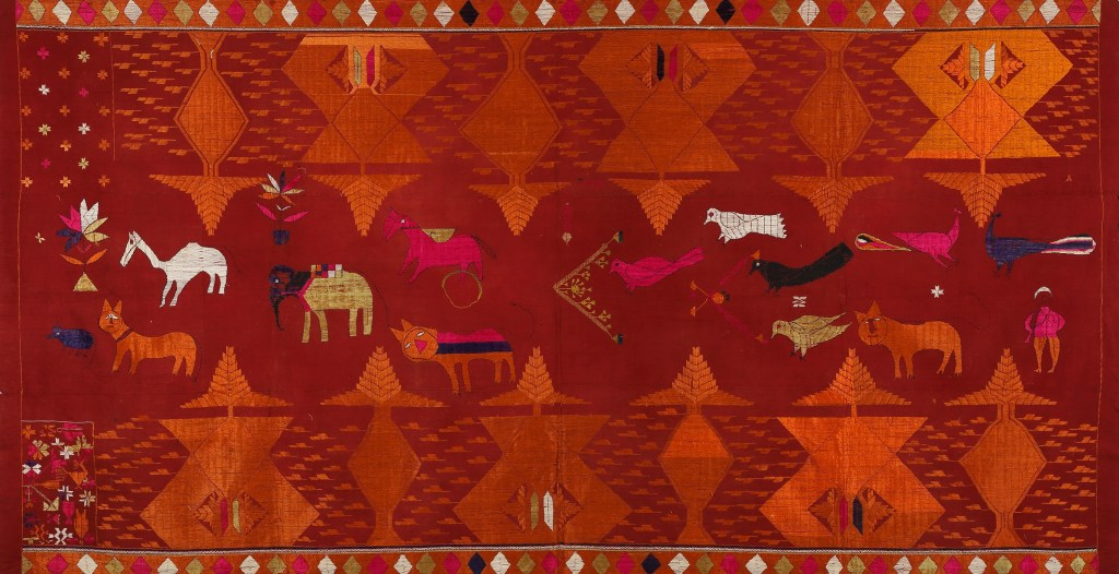 Bagh with animals and shepherd