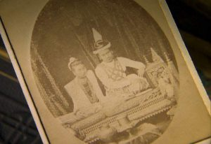 King Thibaw and Queen Supayalat