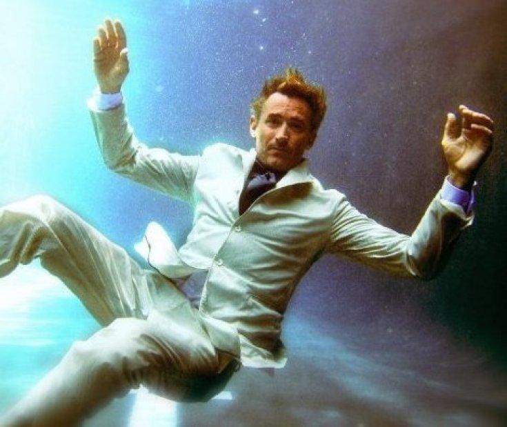 captain todd underwater