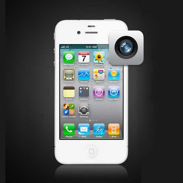 iphone 4 front facing camera