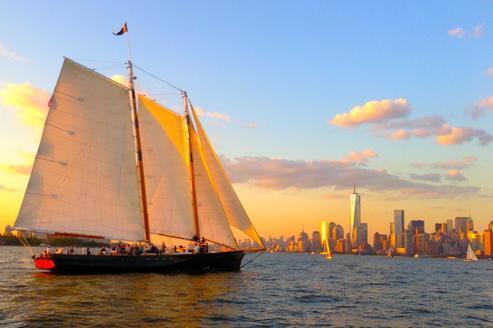 rental sail boat schooner in NY Sailo
