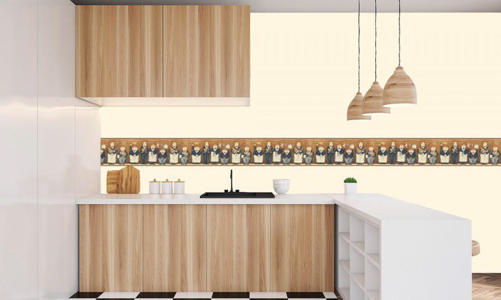 Cenefas Para Habitacion Bebe Nia Puedes Pintar La Parte Superior Y Colocar Papel En La Inferior Utilizando Una Moldura Decorativa Como Transicin