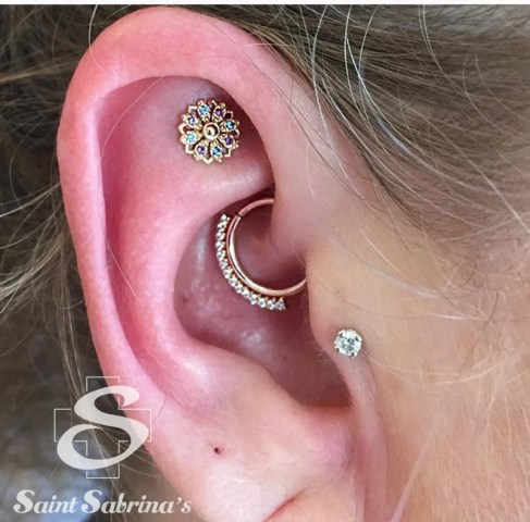 daith faux rook piercings bvla jewelry