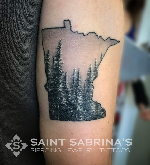 Minnesota Tattoo by Bleach