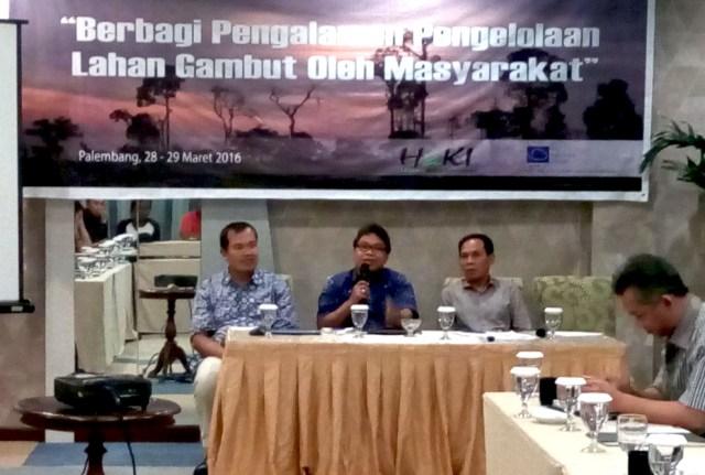 Masyarakat Tiga Propinsi di Sumatera Berbagi Pengalaman Mengelola Lahan  Gambut