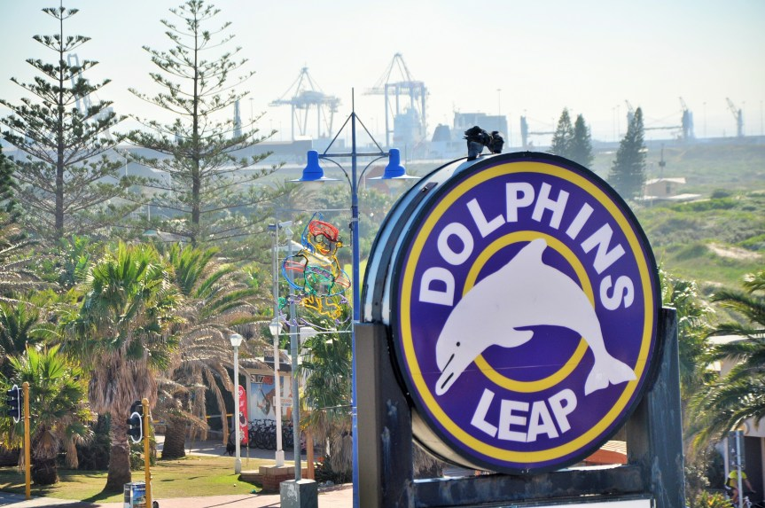 Dolphin's Leap on Port Elizabeth's beachfront, the venue of the Operation Phakisa: Ocean Economy seminar on clustering in the South Africa maritime economic sector, involving a range of thought leaders from South Africa and Norway