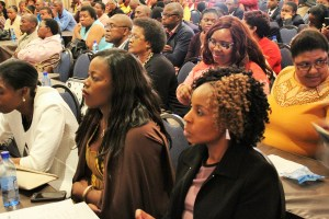 Part of the audience during the  World Maritime Day 2016 event observed in South Africa at the Gariep Dam in the Free State on Thursday, 29 September 2016