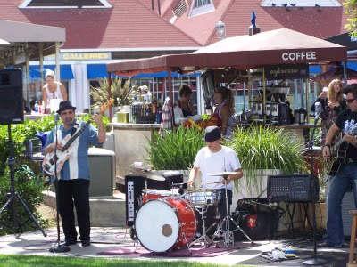Coronado Ferry Landing Concert