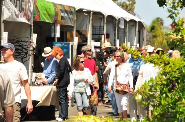 Mission Federal Art Walk In Little Italy - San Diego