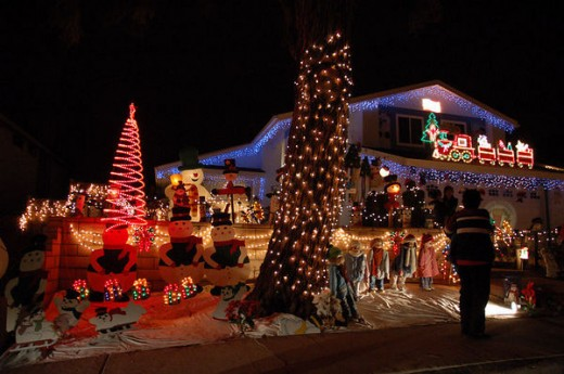 Christmas Light Displays Where To See Them In San Diego