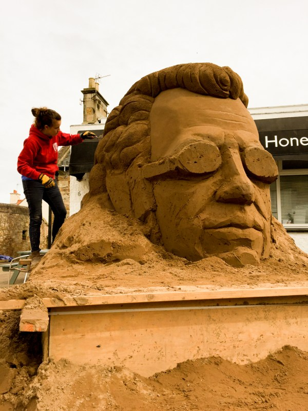 Celebrating 8 Years Of Sand Sculptures East Neuk